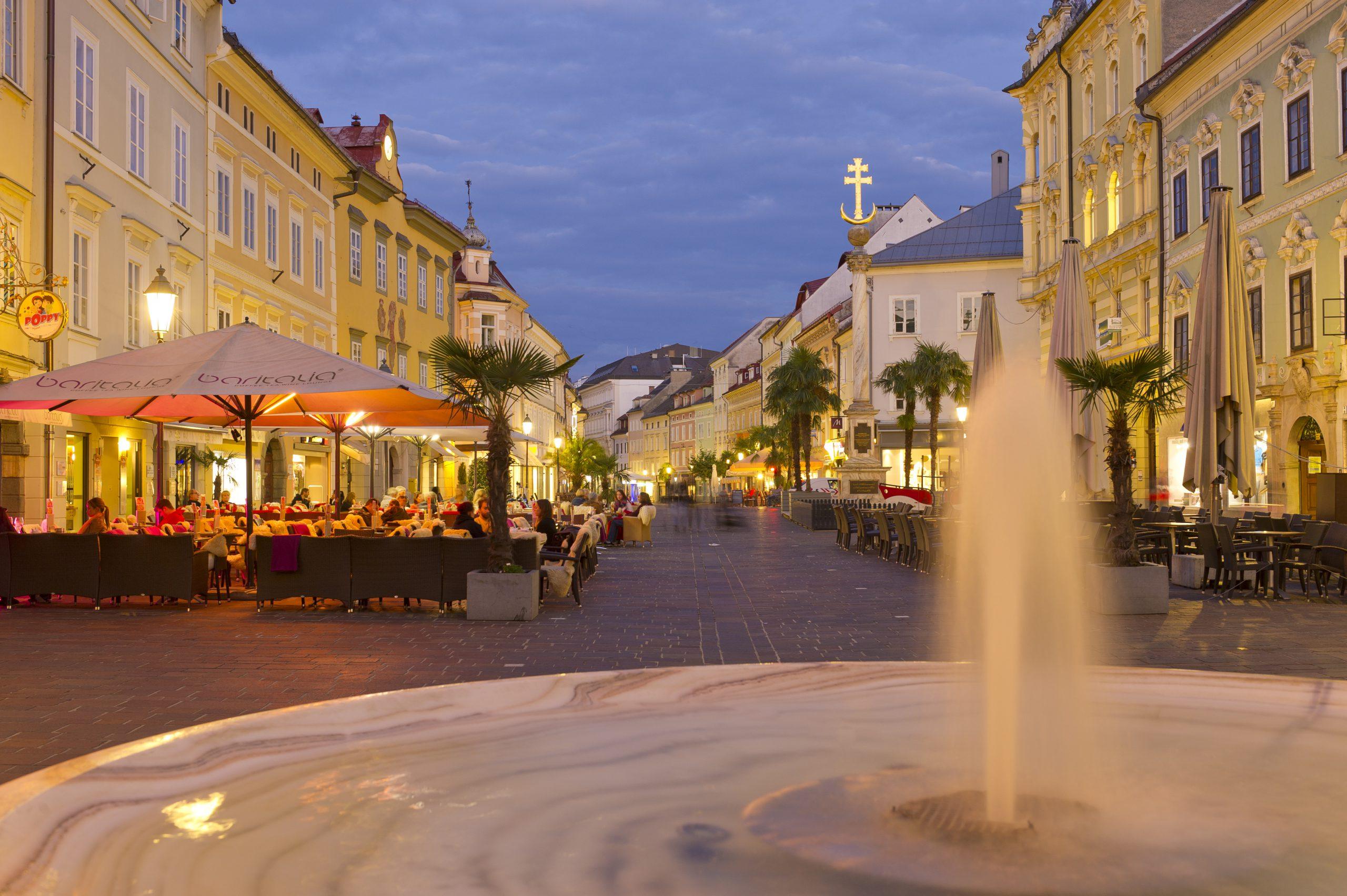 Radurlaub in der Landeshauptstadt Klagenfurt am Wörthersee im Herzen von Kärnten