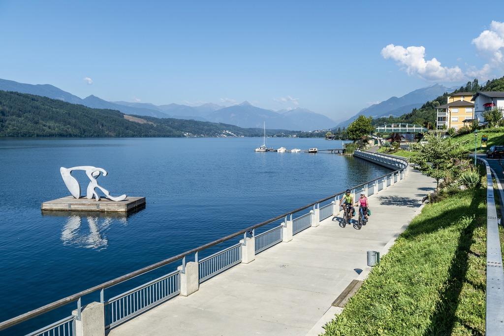 ein tolles Erlebnis- den Millstätter See mit dem Rad erkunden
