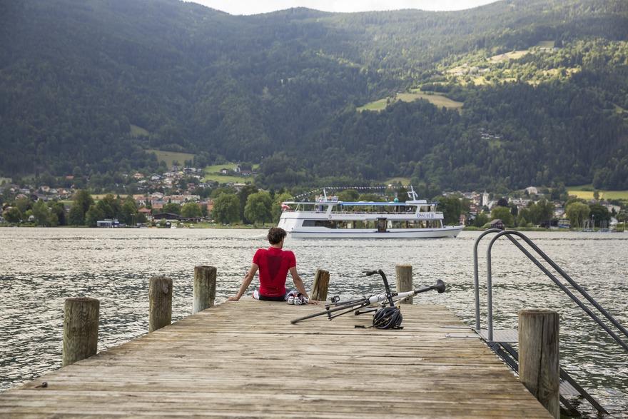 den Ossiacher See per Rad und Schiff erkunden - ein tolles Erlebnis