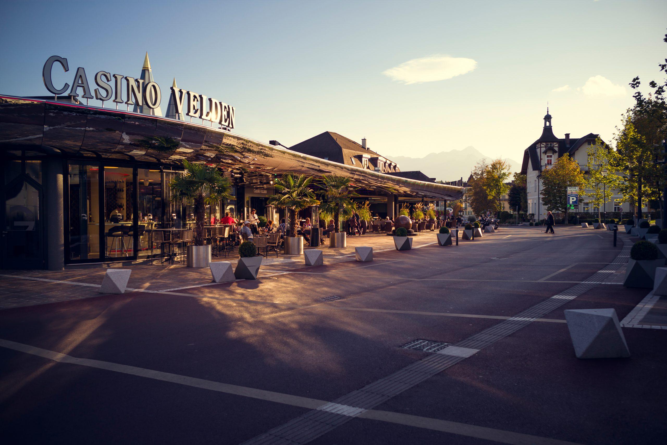 das Casino Velden ist eines der modernsten Casinos in Europa - auf alle Fälle einen Besuch wert