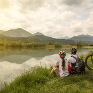 Discover the natural beauties of Carinthia's largest river on the Drau cycle path