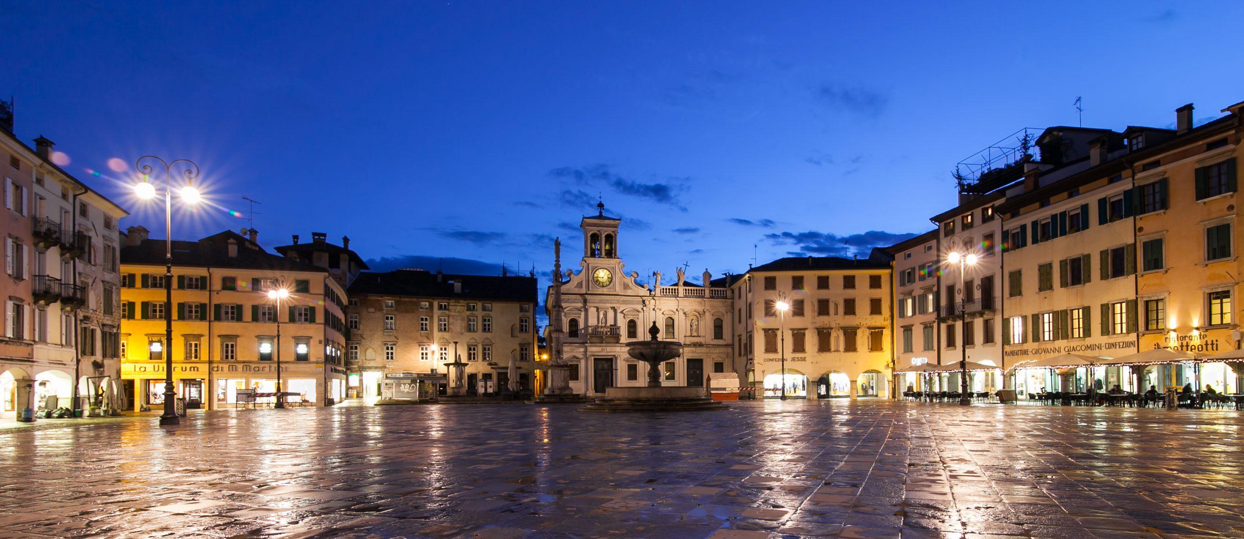 Udine mit dem Rad erkunden und bedeutende Bauten der späten Gotik und Renaissance bewundern