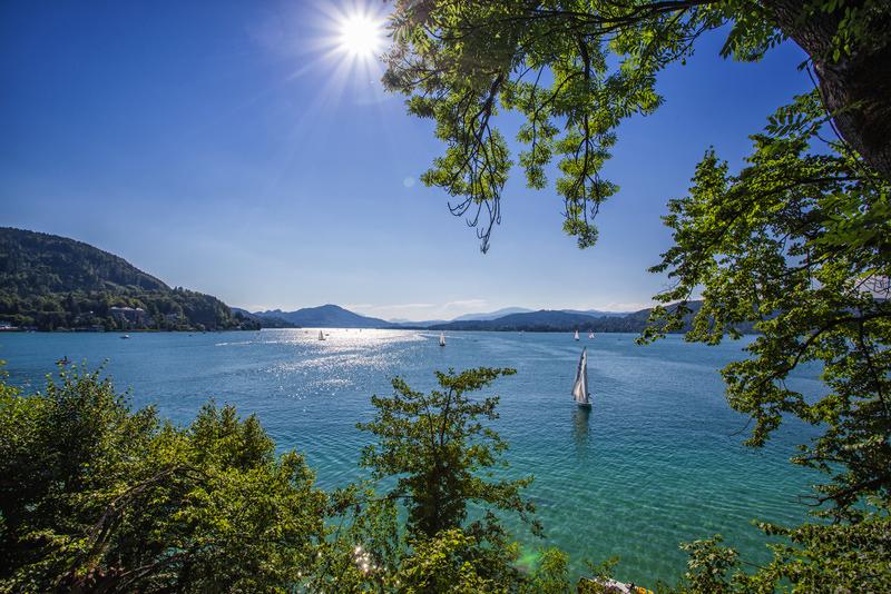 die Natur genießen am Wörther See - ein Genuss für Radfahrer