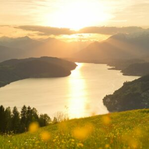 Lake Millstatt is ideal for swimming and cycling