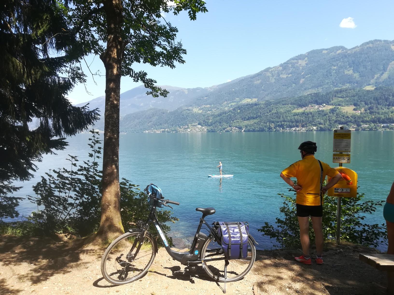 Explore fantastic bike tours in Carinthia - Lake Millstatt by bike
