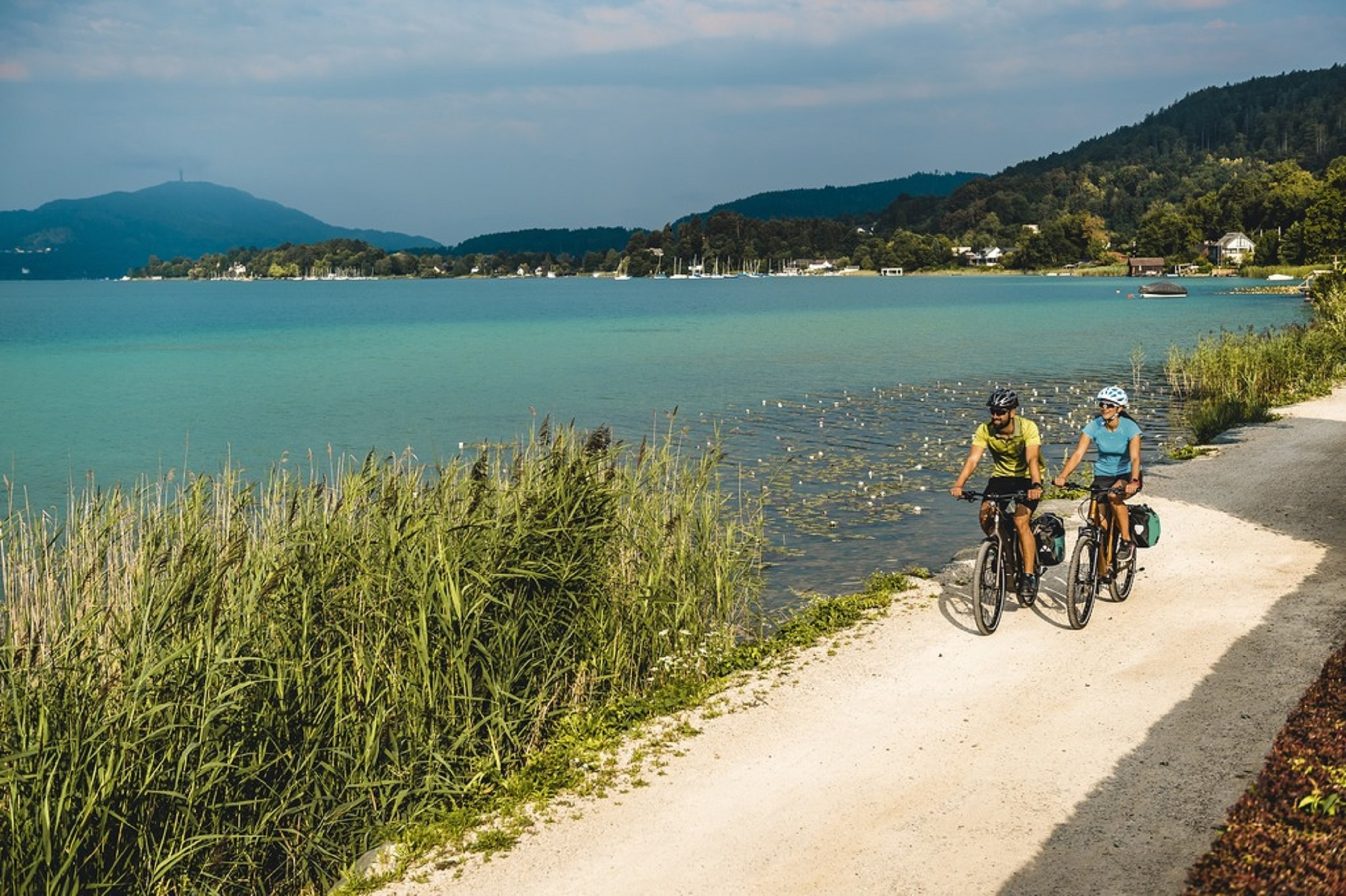 traumhafte Radtouren in Kärnten- den Wörthersee mit dem Rad erkunden