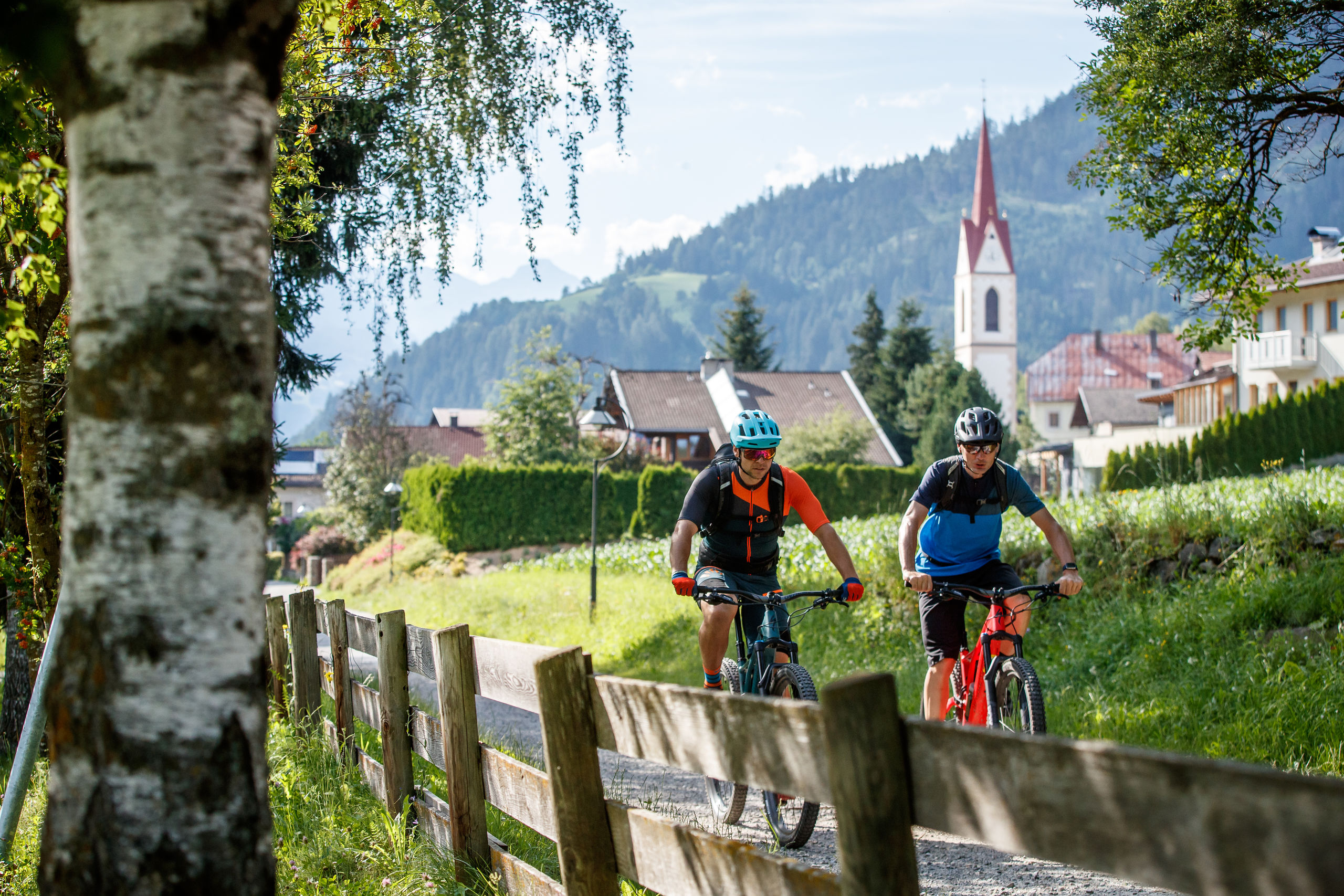 Explore the sunny city of Lienz in Tyrol by bike