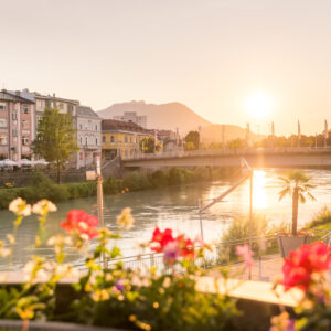 the city of Villach enchants cyclists with its great charm