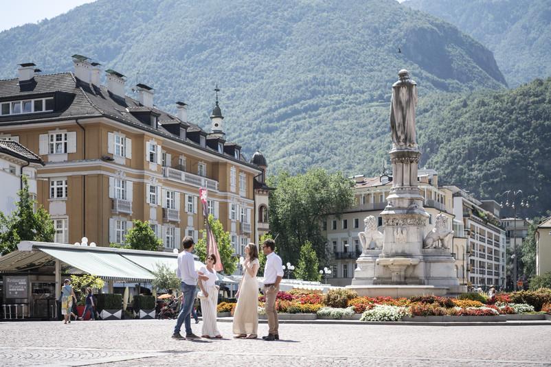 Südtiroler Landeshauptstadt Bozen mit dem Rad erkunden