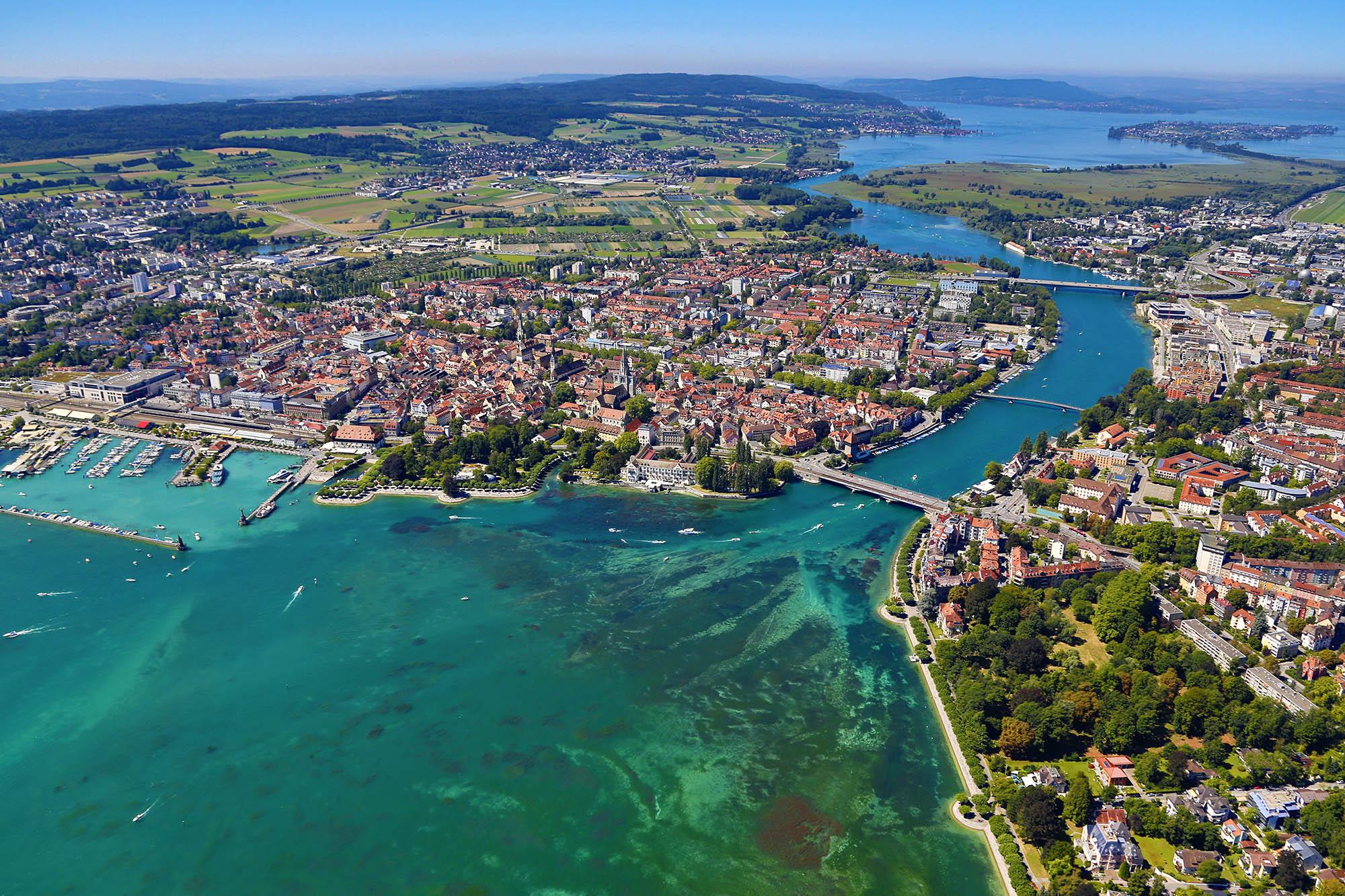 Konstanzer Trichter - Radurlaub am Bodensee