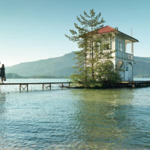 Der Wörther See lädt zum Baden und Entspannen ein