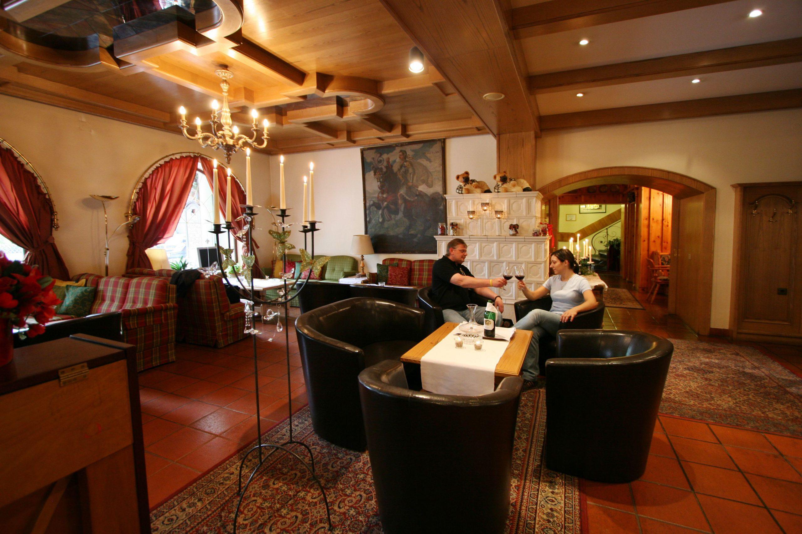 Hotel Alber Kaminstube