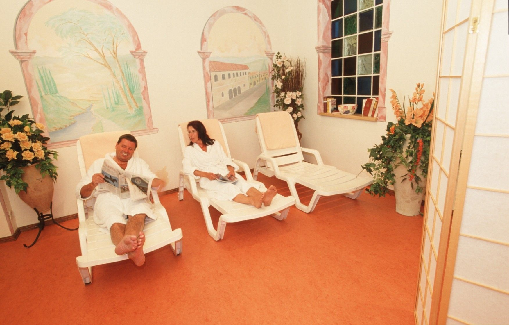 Hotel Alber relaxation room
