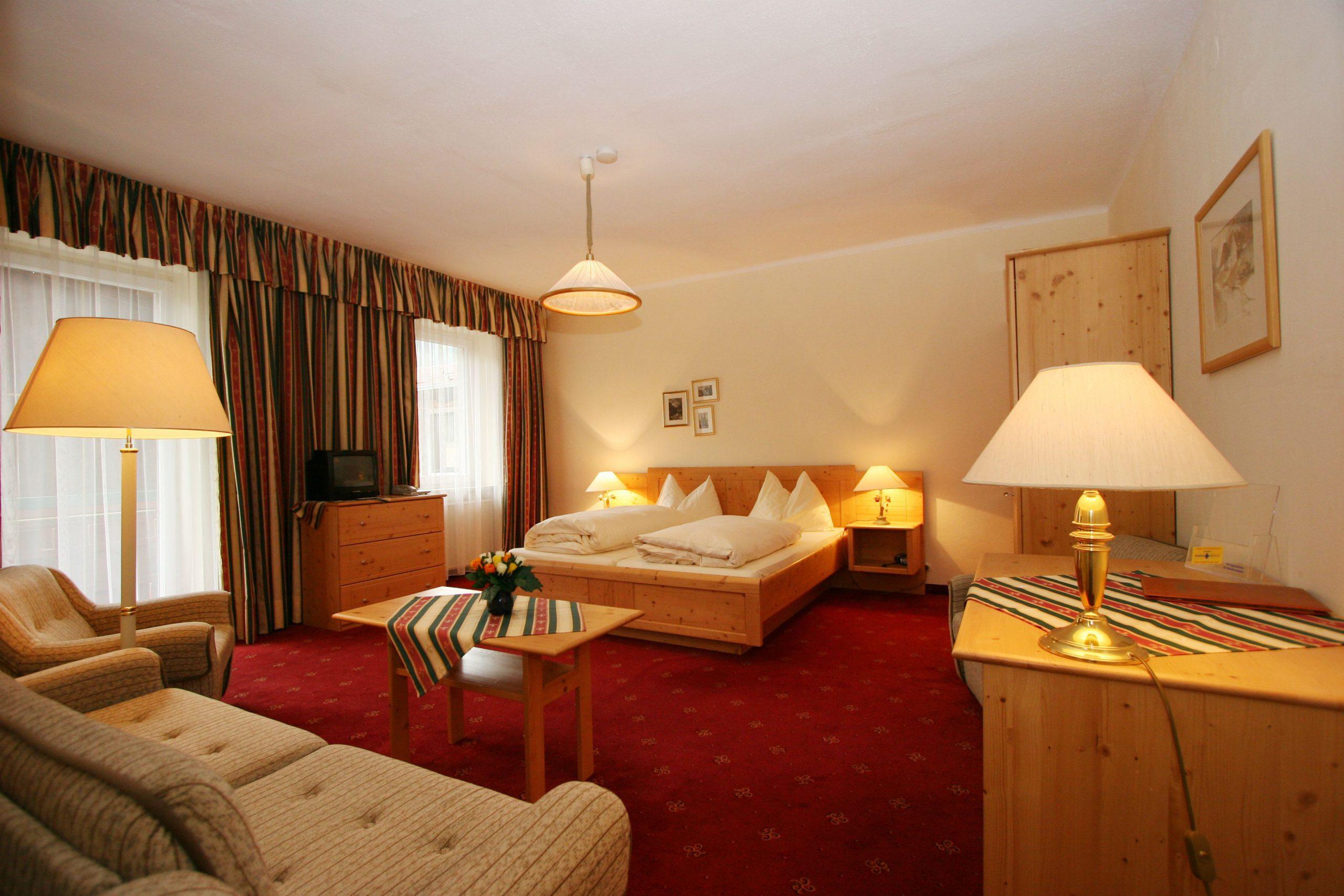 Hotel Alber room