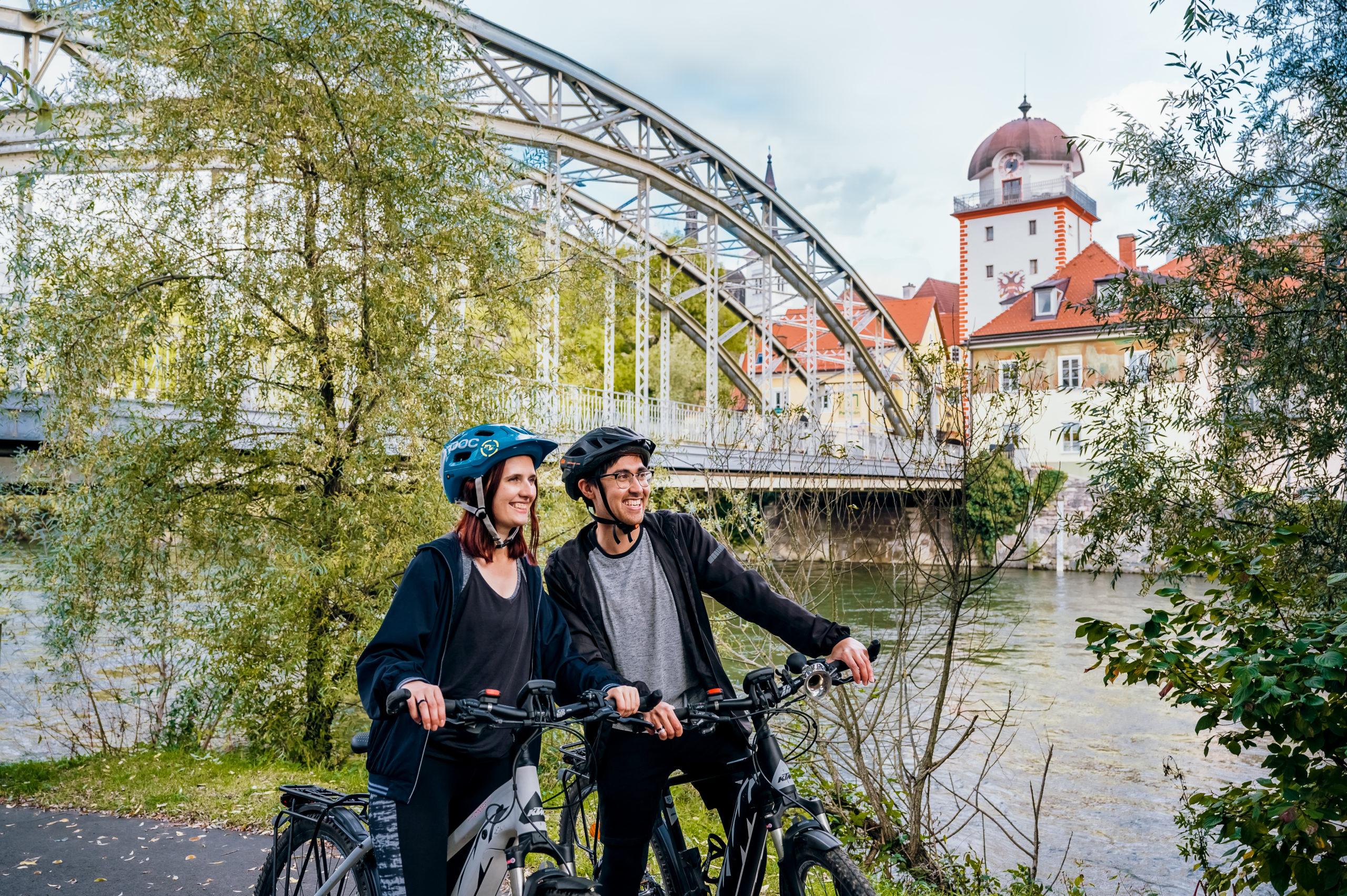 die Stadt Leoben mit dem Rad erkunden - ein toller Urlaub